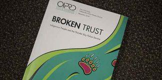 OIPRD Report Broken Trust