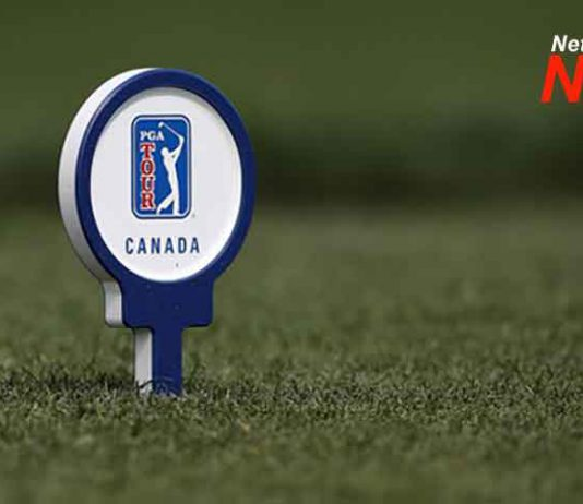 PGA TOUR Canada tee marker