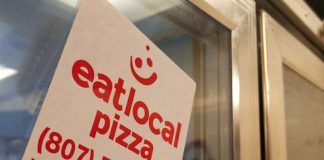 "Eat Local Pizza - ""One day they will remember me as the Willy Wonka of pizza"" - Jim Stadey"