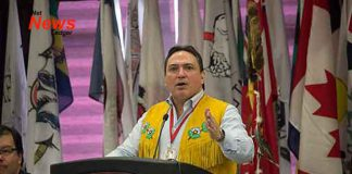 Assembly of First Nations Grand Chief Perry Bellegarde