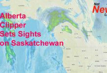 Alberta Clipper Aims at Saskatchewan