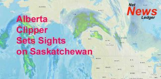 Alberta Clipper Aims at Saskatchewan