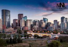 City of Calgary skyline