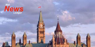 House of Commons in Ottawa Ontario