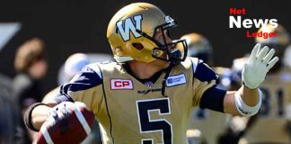 Drew Willy of the Winnipeg Blue Bombers