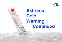 Extreme Cold Warning Continued