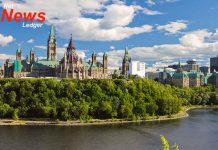 House of Commons and the Library of Parliament Summer
