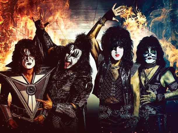 Official KISS image - photo credit Jen Rosenstein