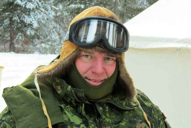 Lieutenant-Colonel Matthew Richardson commands the Rangers of Northern Ontario.