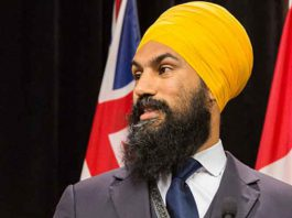 Jagmeet Singh Leader of the New Democrats