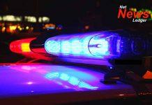 Police Car Crime Splash