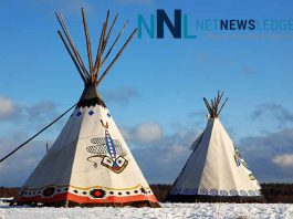 Indigenous News Splash Two Tee Pees