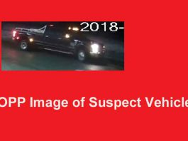 OPP REQUEST PUBLIC ASSISTANCE IN IDENTIFYING SUSPICIOUS VEHICLE AND SUBJECT