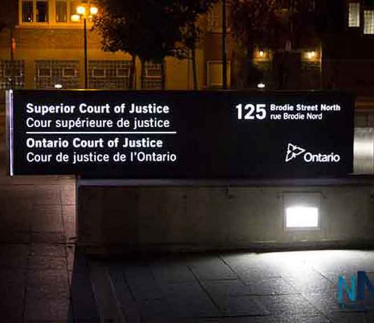 Superior Court of Justice in Thunder Bay