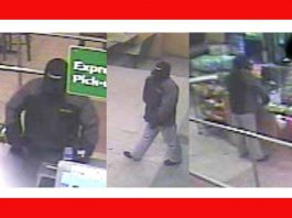 Thunder Bay Police supplied image of armed robbery suspect