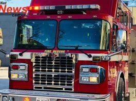 Thunder Bay Fire Rescue Pumper