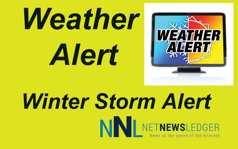 Special weather statement issued, calling for significant winter storm on Tuesday