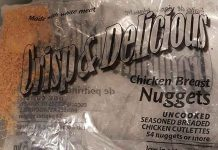 Recall of Crisp and Delicious Chicken Nuggets
