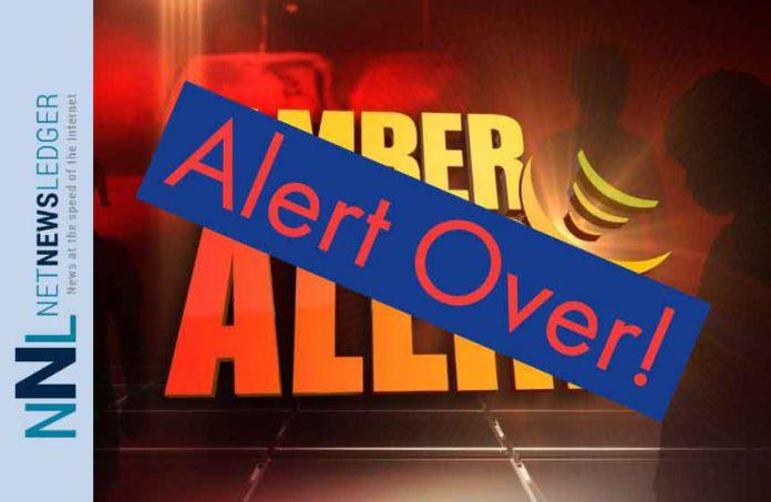 Amber Alert Ended
