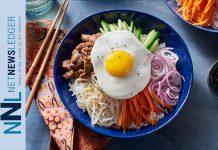 Tasty dish - Korean Bibimbap from Foodland Ontario