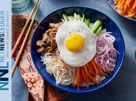 Tasty dish - Korean Bibimbap from Foodland Ontario