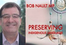 Bob Nault MP Column Preserving Indigenous Languages