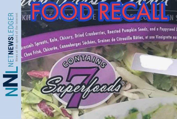 Eat Smart brand Sweet Kale Vegetable Salad Bag Kits