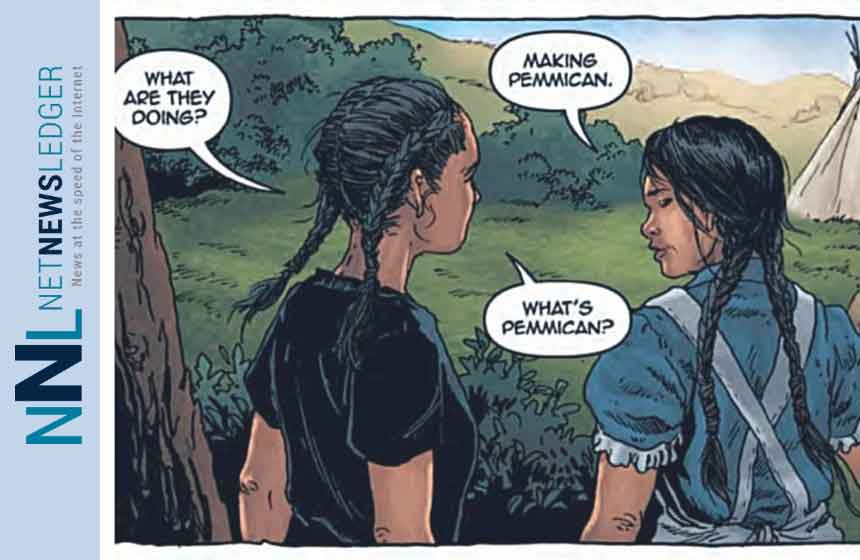 From Katherena Vermette's graphic novel A Girl Called Echo