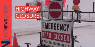 Highway closure