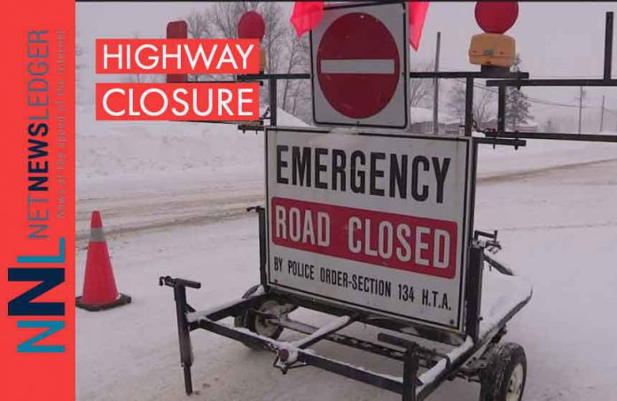 Highway closure