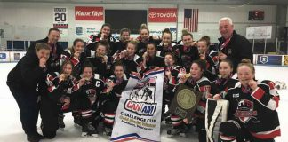 Thunder Bay Midget AA Queens Harvest Gold