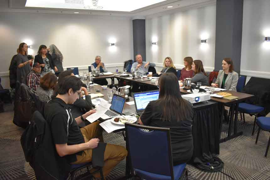 Over 20 people representing various First Nation regional health organizations attended the Health Meeting in Toronto to discuss Health Transformation across the Treaty #3 territory.