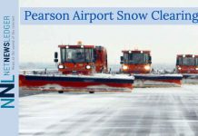 Snow Clearing Equipment at Pearson International Airport