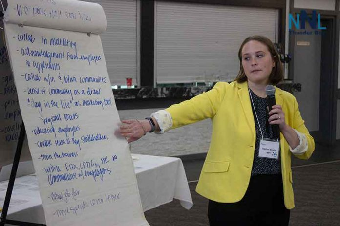 Rachel Beals of the Northern Policy Institute reports the conclusions from a workshop to delegates