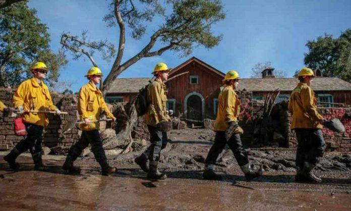 Monster mudslides, water rescues as storm punishes California