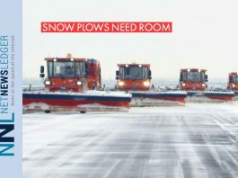 Snow Clearing crews keep you safe - Give them the room they need