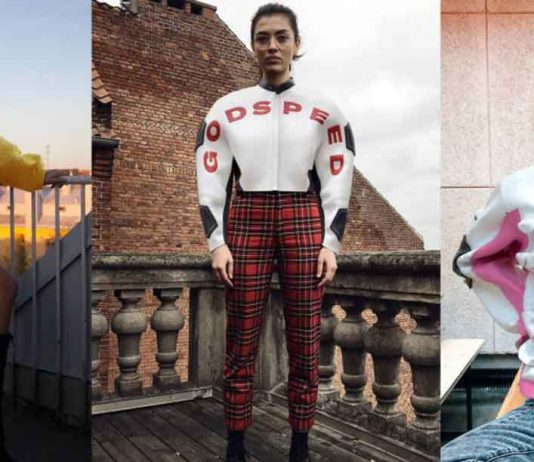 People wear digital clothing created by Scandinavian brand Carlings. Photo supplied: Carlings/Jekky Berglund/Aida Berisha/Ane Gyllstrom