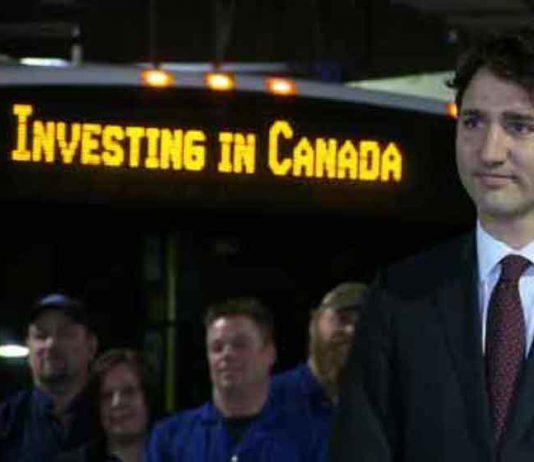Prime Minister Trudeau in Thunder Bay - NNL Image