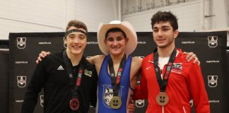 Thunderwolves Dan Palermo wins gold medal in 61 kg class