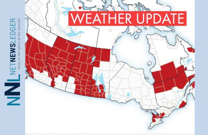 February 9, 2019 - A rare event, there are no weather alerts, no weather advisories or warnings in effect for Northwestern Ontario