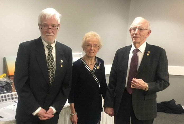 The Port Arthur Rotary Club celebrated Paul Harris Fellowships