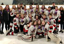 Bantam A Queens Take Gold in Winnipeg
