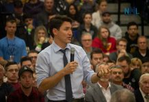 Prime Minister Justin Trudeau in Thunder Bay