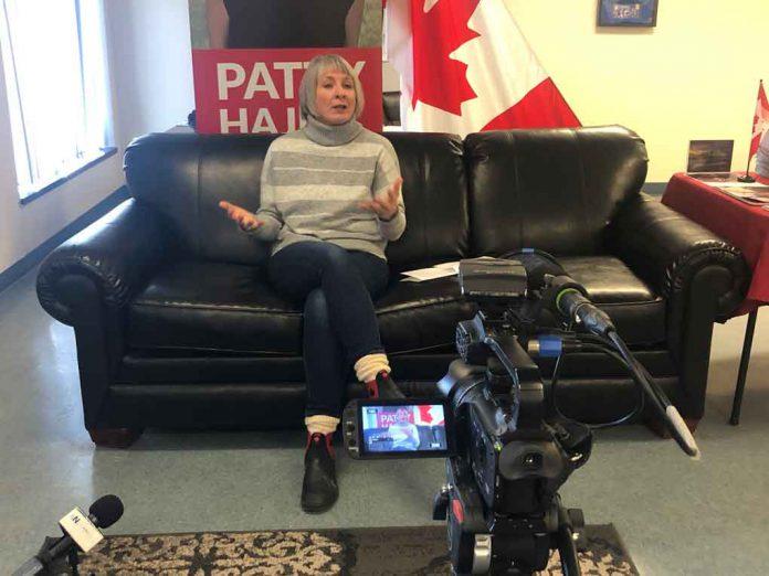 Minister Hajdu spoke on Budget 2019 with Thunder Bay Media