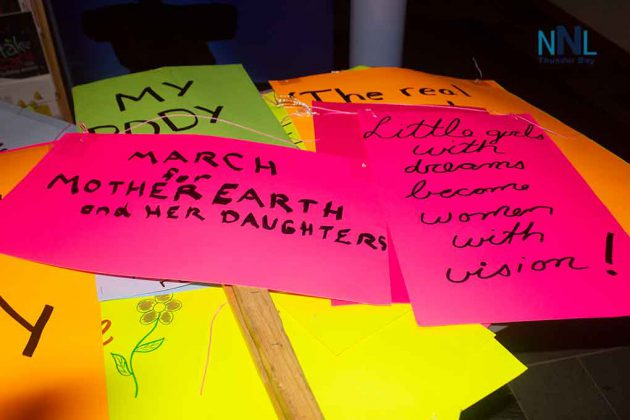 The Messages on International Women's Day at the OPSEU Rally and Walk