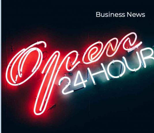 Open for Business Twenty-Four Hours