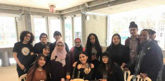 Regional Multicultural Youth Council delegates at Canada We Want Conference