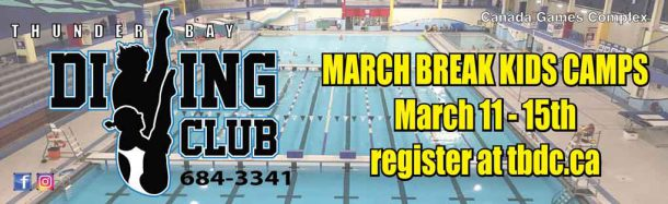 Thunder Bay Dive Club March Break Camps