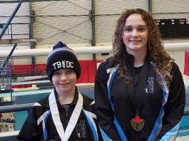 Thunder Bay Diver are competing at the Ontario Spring Provincials in London