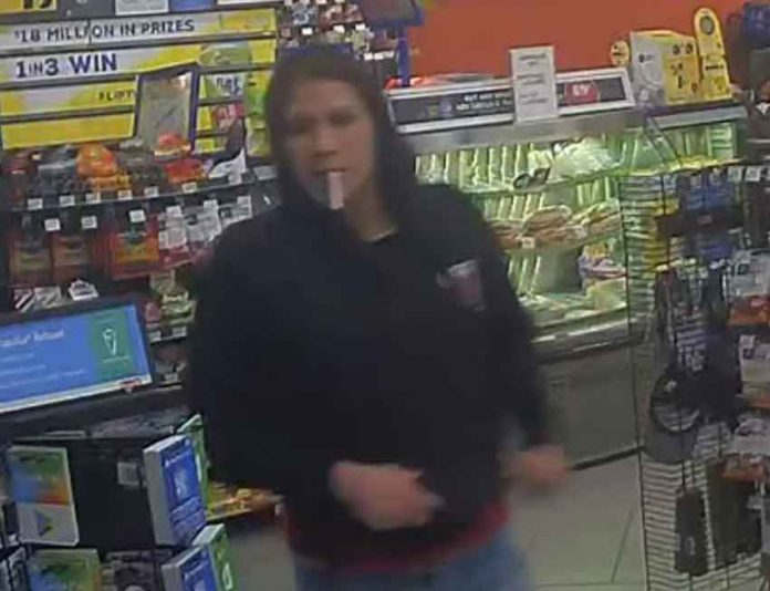 Thunder Bay Police Service image of Suspect in Circle K robbery